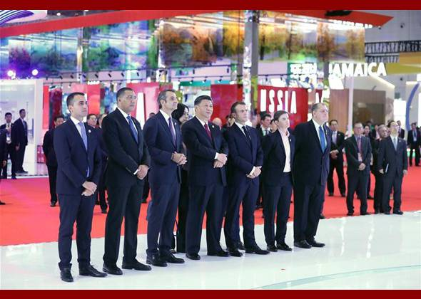 Xi, Foreign Leaders Tour CIIE